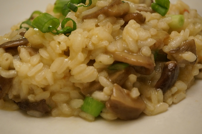 Mushroom risotto8