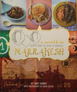 Book cover Month in Marrakesh