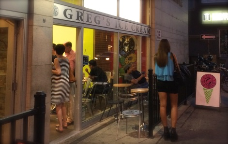 Gregs ice cream